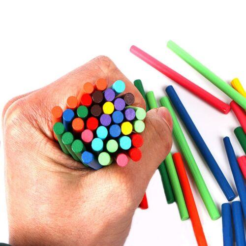100* Holzstab Kinder Spielzeug Lernen Mathematik Digital Arithmetik Bastelhölzer
