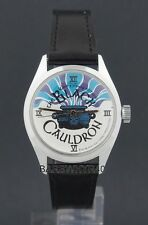 Vintage 1985 wind-up The Black Cauldron Disney Movie Promotional Character Watch