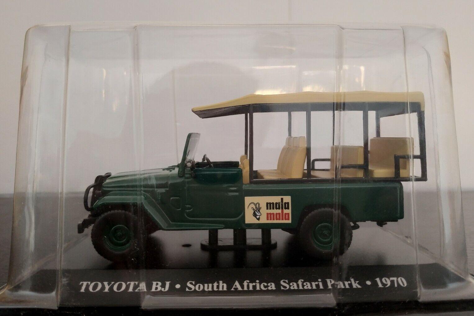 1 43 toyota bj south africa safari park 1970 ixo altaya scale
