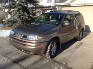 2002 Olds Bravada AWD, Mint Condition $4595.00