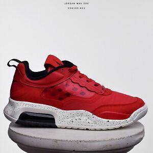 Hacer Fanático lanzadera  Jordan Max 200 hombres nuevos zapatos Zapatillas de estilo de vida Fuego  Rojo Negro Vela CD6105-601 | eBay