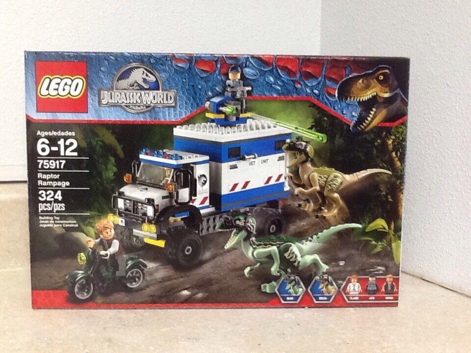 Lego Jurassic värld Raptor Rampage (7917)