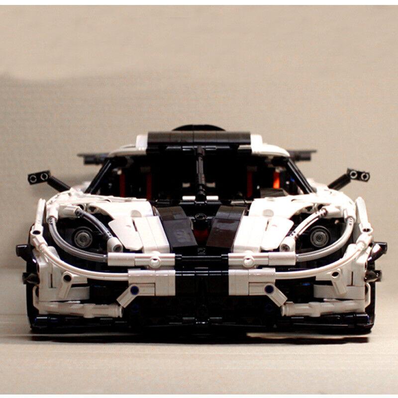 23002 MOC för förändring av Racing Car Building Blocks Bricks 2455pcs