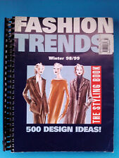 collectible Fashion Trends styling book guide Winter 98/99 German spiral binding
