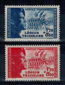 a29-timbres-France-n-565-566-neufs-annee-1942