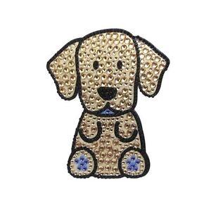 Yellow-Labrador-Dog-Rhinestone-Glitter-Jewel-Phone-Ipod-Iphone-Sticker-Decal
