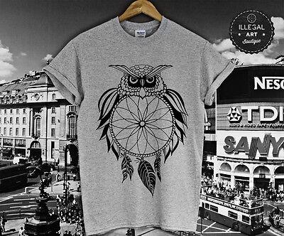 DREAM CATCHER OWL T SHIRT HYPE RATCHET SWIFTIE OVO FELINE COCO CLOTHING TOP NEW