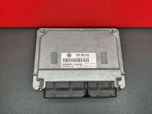 VW POLO 1.2 PETROL ENGINE ECU 03E 906 033 SIEMENS 5WP40163 04 03E906033