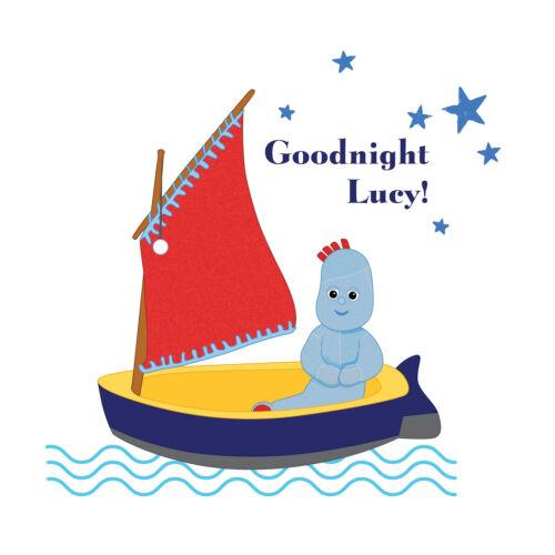 Goodnight Igglepiggle WALLSTICKER personnaliséOfficial In the Night Garden