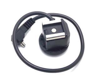 Insulated-Sync-Hot-Shoe-Flash-Adapter-w-Tripod-Socket