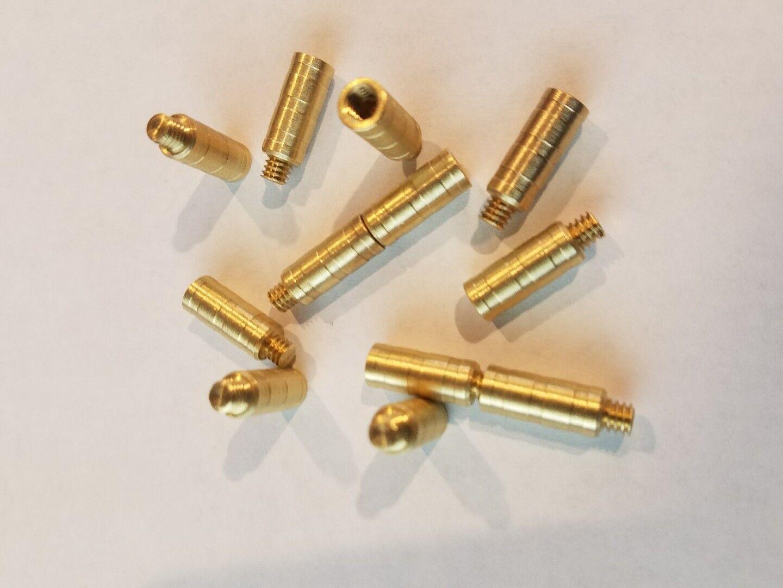 50 Grain Gold Tip FACT Arrow Weight Screw Combo 1dz .246 shafts FOC Brass gr