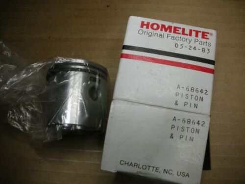 NOS Homelite chainsaw 68642 piston pin /& 68508 rings 150A  B706