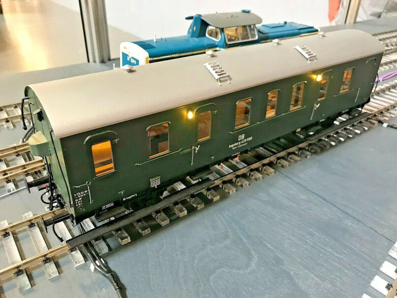 KM1 Spur 1 Personenwagen Wohn-Schlafwagen D 21 Bauzugwagen 202111a oder 202111b