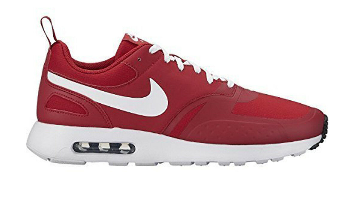 Nike Air Max Vision Uomo Running Trainers Shoes Size US 10 Gym red White
