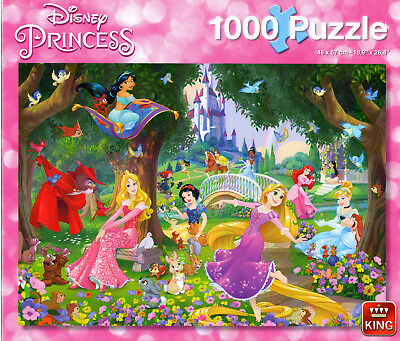 1000 Piece Disney Collection Jigsaw Puzzle A Beautiful Day Princess Castle 05278