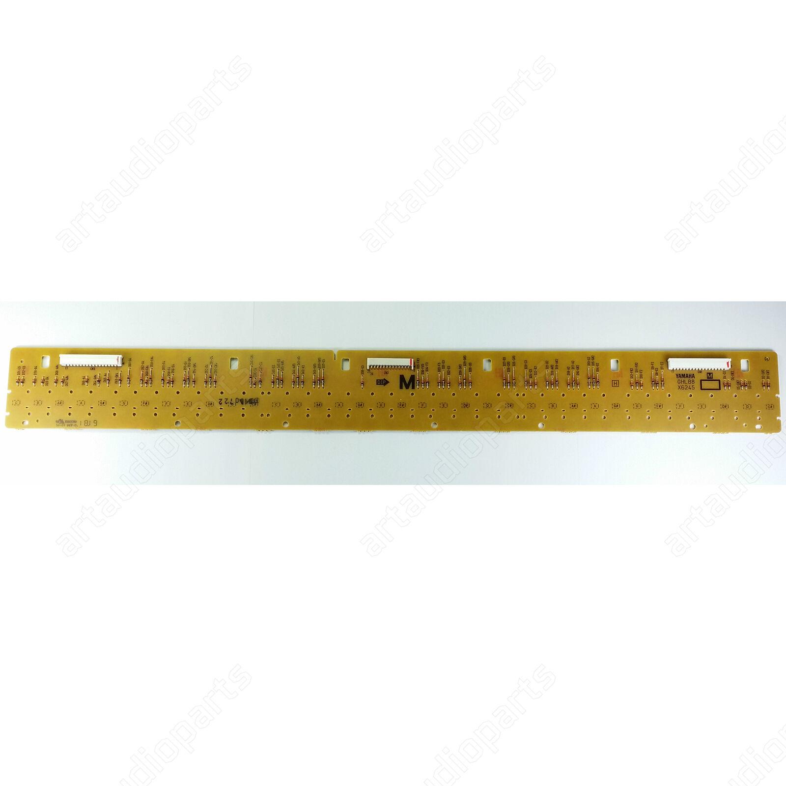 Keys circuit board GHL88M for Yamaha DGX-620 DGX-630 DGX-640 DGX-650 DGX-660 KBP