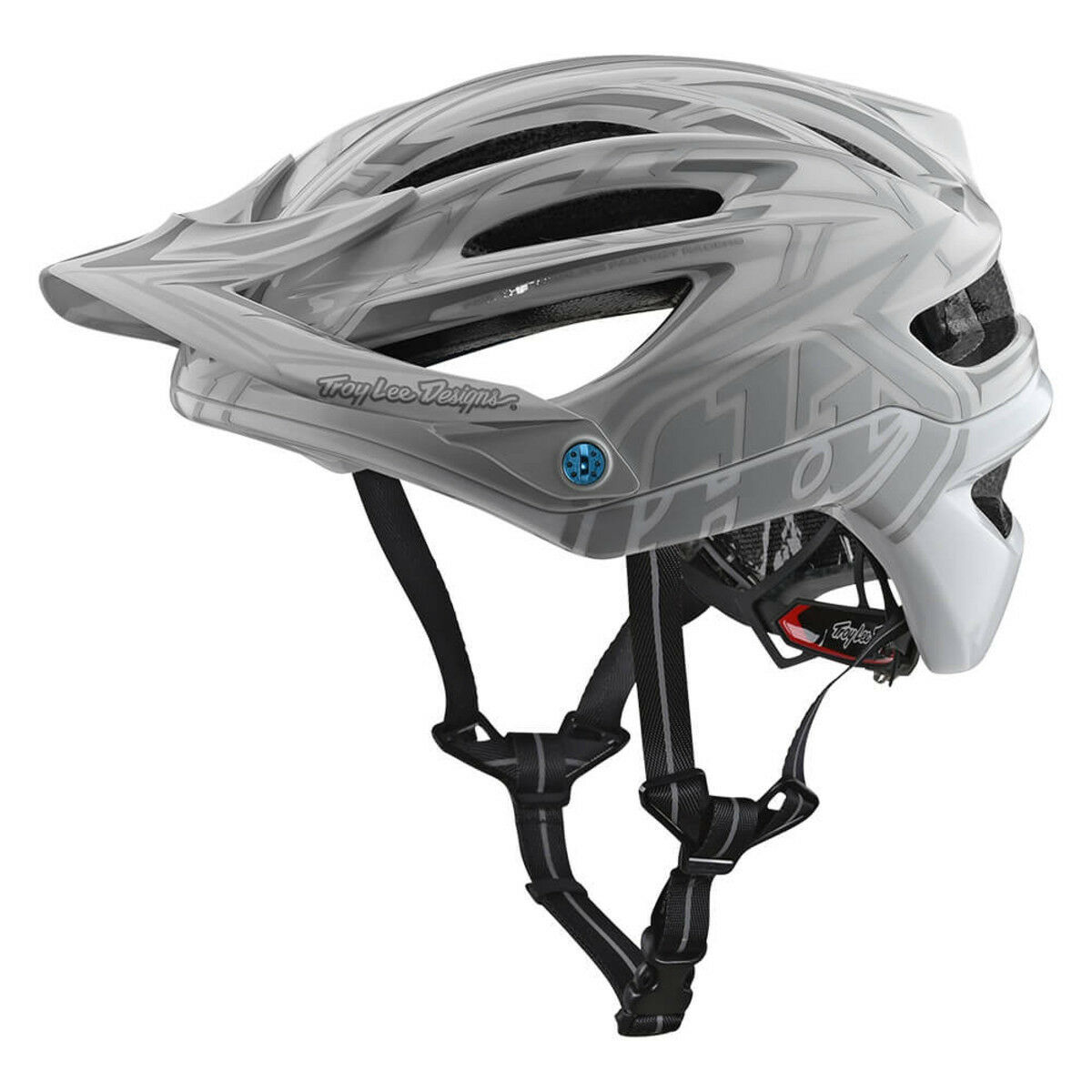 Troy Lee Designs  Mountain Bike Helmet A2 MIPS; PINSTRIPE 2 WHITE MD LG  up to 50% off