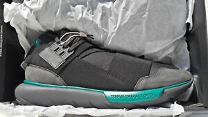 low priced 4c2f8 a065d Image is loading Y-3-QASA-High-Top-Adidas-Sneakers-Size-