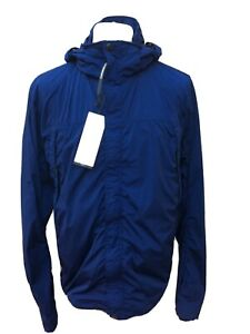 C.P. Company nycra Goggle Hood Veste de Estate Bleu Couleur Rare RRP £ 585 3XL