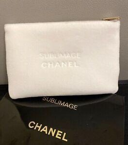 Chanel Beauty White Faux Velvet Makeup