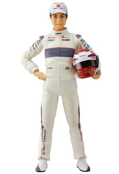 Figma 122 F1 race driver Kamui Kobayashi Action Figure Good Smile Company NEW