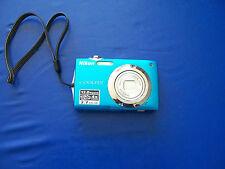 Nikon COOLPIX S3000 12.0 MP Digital Camera - Blue
