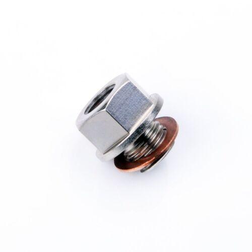 Turbochager Sensor Adapter Oil Water Boost Temp M12x1.25 To 1//8 NPT