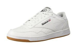 Reebok-Club-MEMT-Homme-Classique-Chaussures-CN8393-Blanc-Noir-Gomme