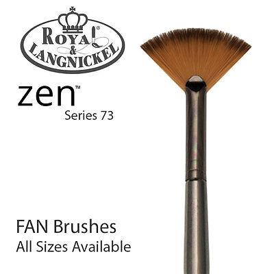 Z73FB-2//0 Royal /& Langnickel Zen All Media Brush Series 73 Fan 2//0