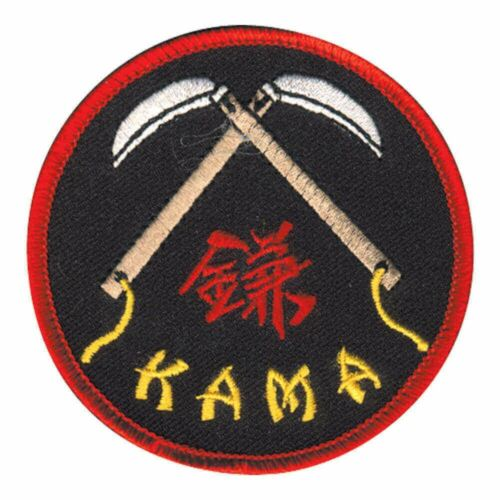 Round Patch for Martial Arts Uniform Kama