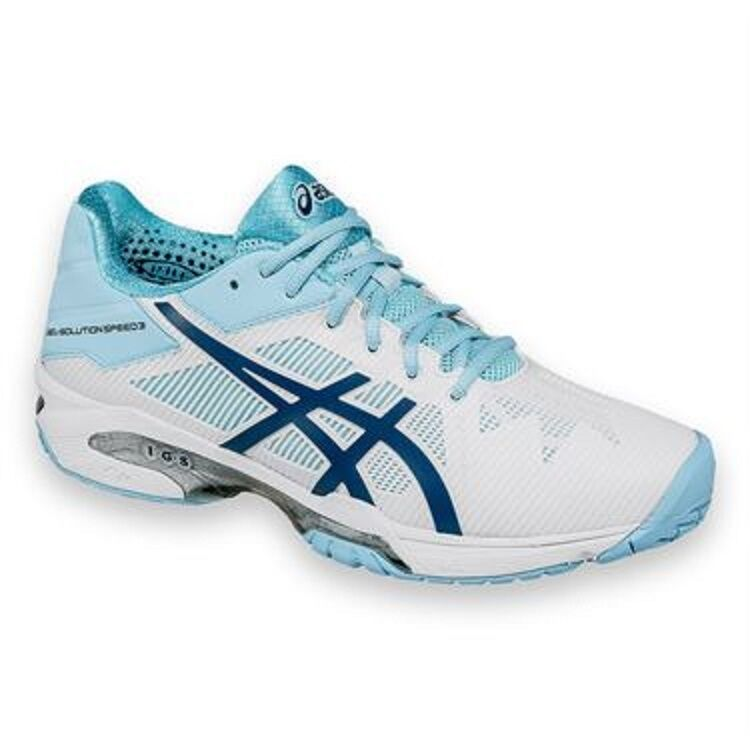 NEW WOMEN'S ASICS GEL-SOLUTION SPEED 3 Price reduction TENNIS SHOES. Great discount