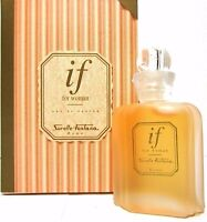 Sorelle Fontana If For Women Eau De Parfum Mini 0.17 Oz / 5 Ml Rare Item In Box