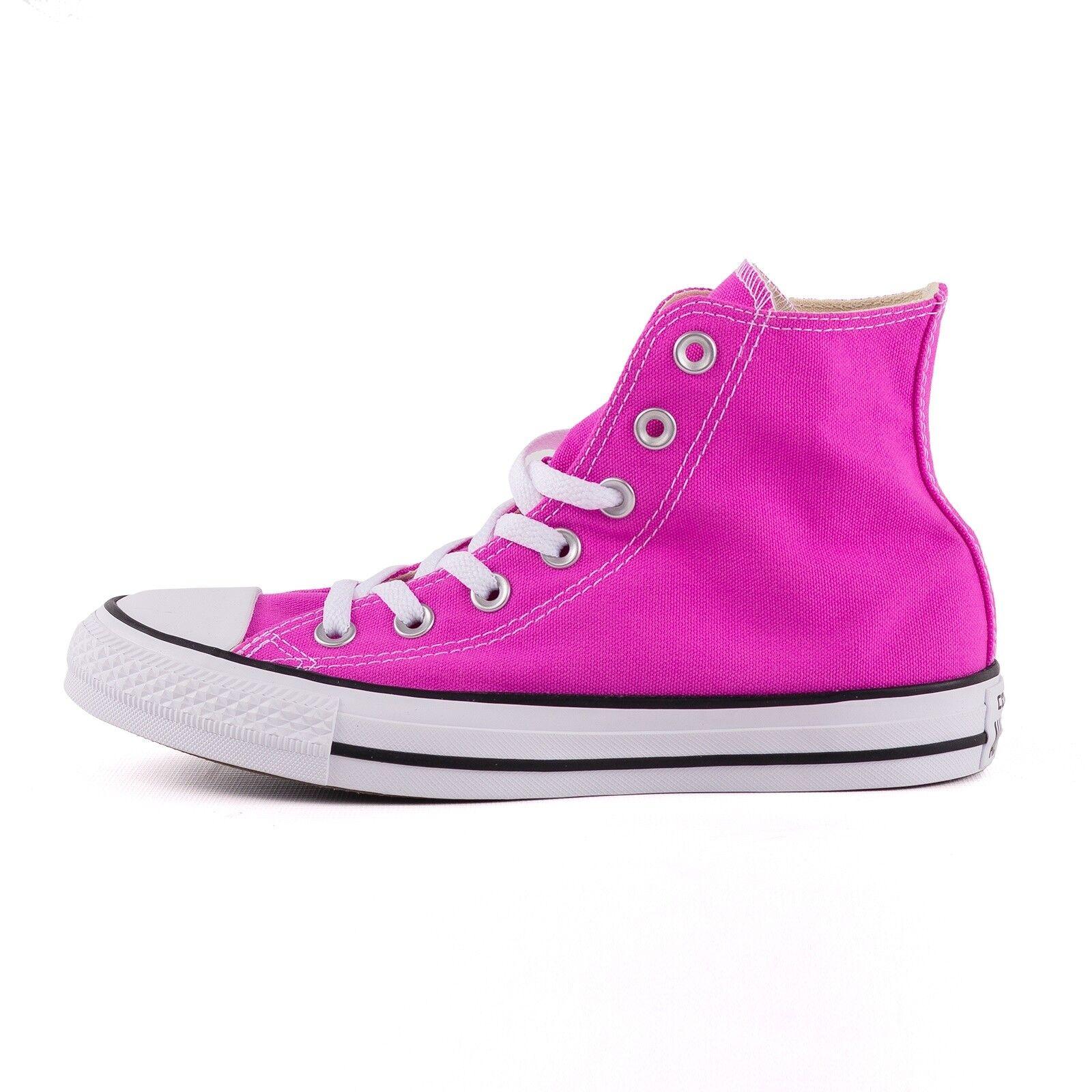 Zapatos promocionales para hombres y mujeres CONVERSE CTAS HI Hiper MAGENTA Calzado de Mujer Altura Zapatillas Fucsia 51410