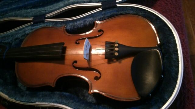Musino Vn3044 Intermediate Series 4 4 Size Violin Outfit With Case And Bow For Sale Online Ebay