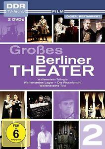Grosses-Berliner-Theater-Vol-2-Wallenstein-Trilogie-DDR-TV-Archiv-2-DVDs-NEU