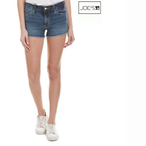 c7f8ee4da5f27 JOE'S JEANS NEW $148 CutOff Jean SHORTS Womens 31 Denim Frayed Hems ...