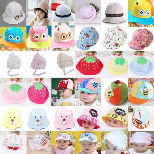 Hut Mütze Kindermütze Babymütze Sommerhut Mädchen Viele SüßE Hüte Sommermütze