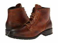 Cole Haan Mens Wayne Lug Mid Distressed Lace Up Military Casual Shoes Boots