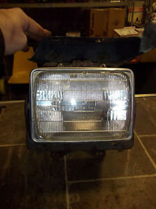 1978 1979 Ford F150 Bronco Factory Oem Right Headlight Assembly W Bracket Square Ebay