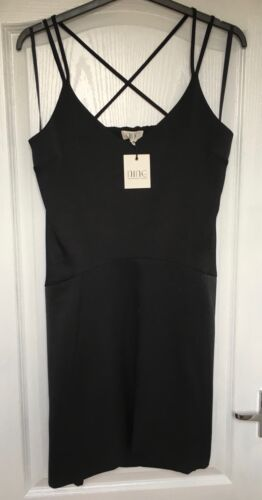 "NEW /""Nine by Savannah Miller/"" Women/'s Cami Dress Size 12 RRP £55 Black"
