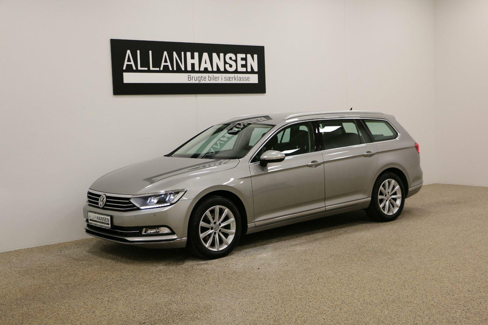 VW Passat 1,4 TSi 150 Highline+ Vari. DSG 5d - 309.900 kr.