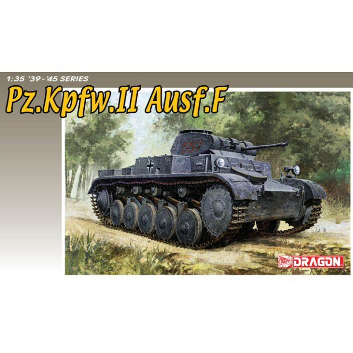 Dragon 6263 German Pz.Kpfw II Ausf F 1 35 scale plastic model kit