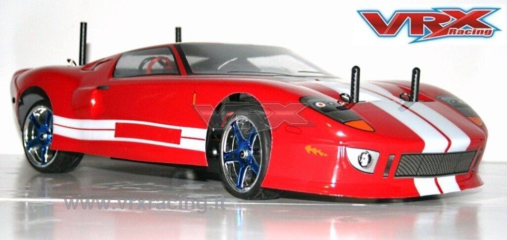 X-RANGER GT BRUSHLESS BATTERIA LIPO 7,4V RADIO 2.4 +  KIT LUCI 1 10 VRX 4WD 1026R  Ritorno di 10 giorni
