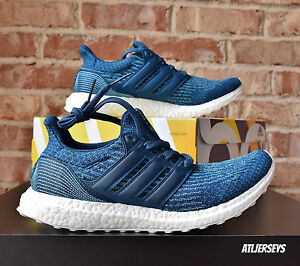 competitive price 75610 97f6f Details about Adidas Ultra Boost x Parley 3.0 Blue UltraBoost BB4762