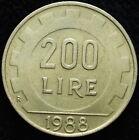 1988 Repubblica Italiana 200 lire