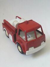 Vintage Tootsie Toy Fire Truck Car Diecast Metal Red, Plastic Tootsietoy USA