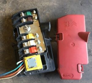 s l300 citroen c5 mk2 07 12 under bonnet battery fuse box and cover ebay c5 fuse box cover at gsmx.co