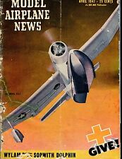 Model Airplane News Magazine April 1947 Columbia XJL-1 ACC 040717nonjhe