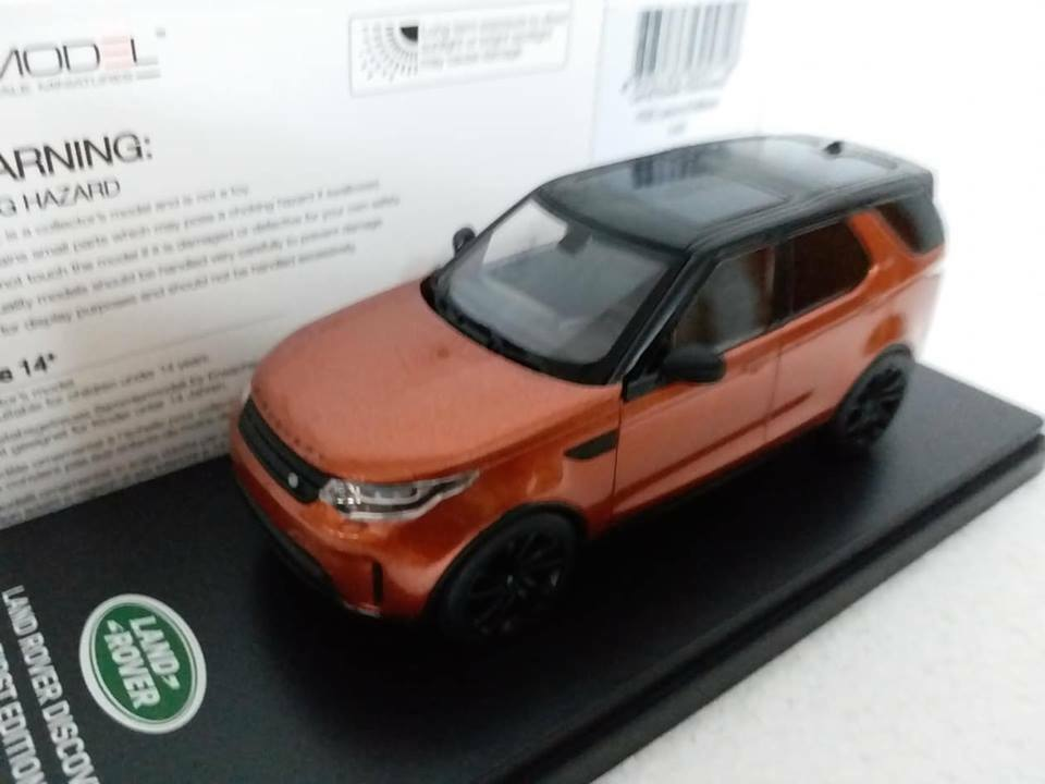 1 43 Truescale TSM Model Land Rover DISCOVERY HSE Luxury Edition Copper