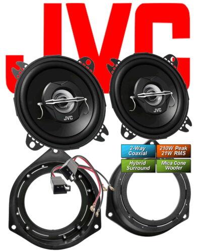 JVC altavoces para Opel Corsa D 2006-2012 páginas popa 2-caminos coaxial 210 vatios